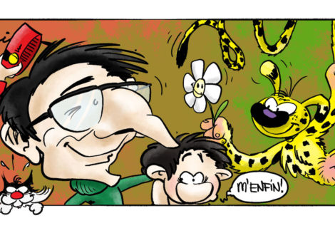 Homage to my favourite Artist – André Franquin